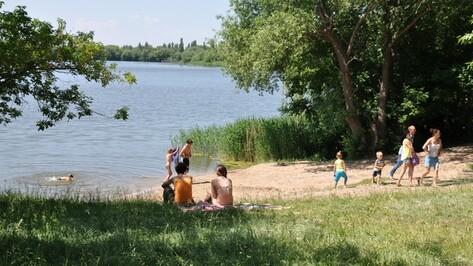 В Эртиле открылся муниципальный пляж