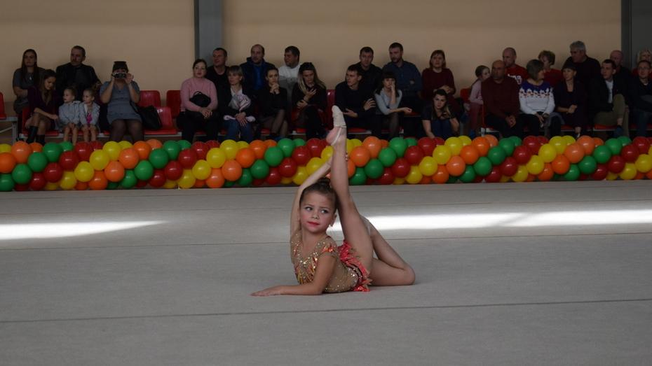 Грибановские гимнастки получили 8 золотых медалей открытого первенства района