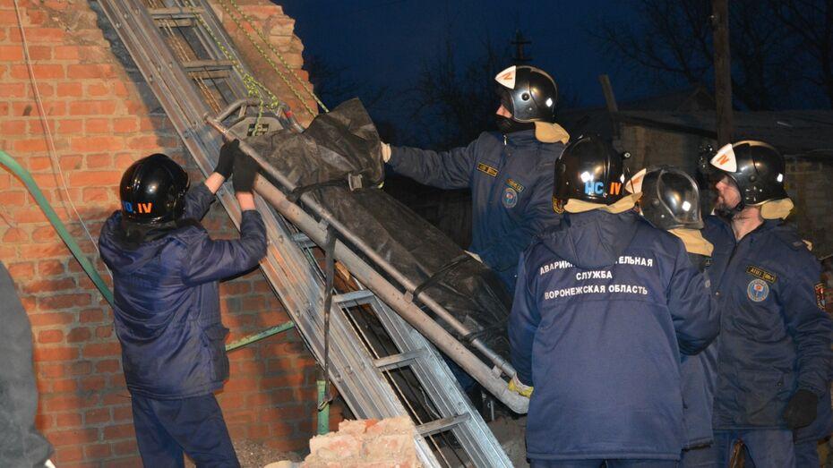 В Воронежской области при взрыве газа погиб мужчина