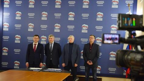 Врио губернатора и спикер облдумы поблагодарили воронежцев за участие в выборах
