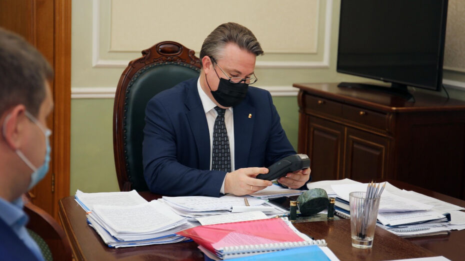 Мэр Воронежа назвал приоритетные задачи на ближайшие годы