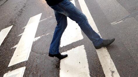 Маршрутка сбила 15-летнего подростка на пешеходном переходе в Воронеже