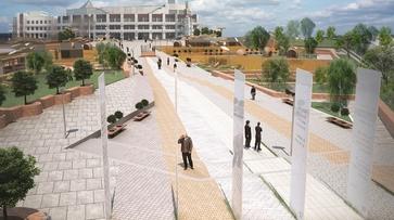 Литературный парк в Воронеже оценили в 99 млн рублей