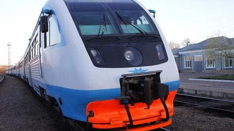 В Воронеже в День города запустят дополнительную электричку до станции «Графская»