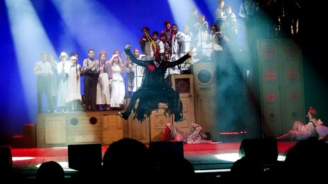 Фестиваль «Маршак» в Воронеже открылся мюзиклом «Пеппи Длинныйчулок»