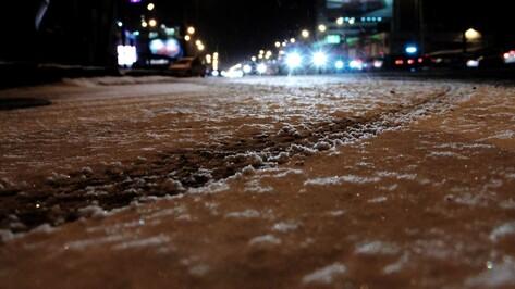 Дорожники предупредили об опасных метеоусловиях на трассах Воронежской области