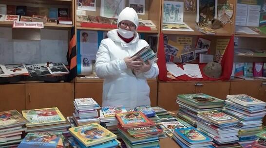 Богучарцев попросили подарить книги сгоревшей в 2020 году библиотеке села Филоново
