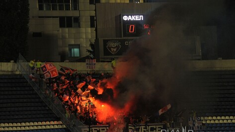 На матч «Факела» с «Сибирью» закроют 8 секторов воронежского стадиона