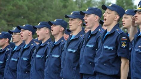 Воронежские курсанты пройдут по Красной площади на Параде Победы