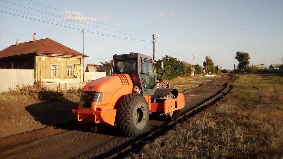 В новохоперском селе Красное впервые отремонтируют грунтовую улицу