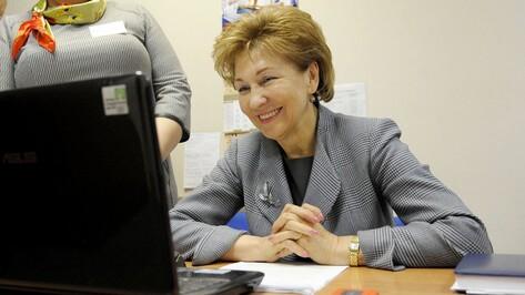Сенатор от Воронежской области поднялась в ТОП-10 медиарейтинга СовФеда