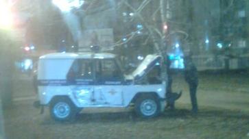 В ДТП с участием полицейского УАЗа и «Нивы» пострадала женщина