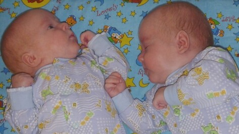 В Воронежской области стали чаще рождаться двойни и тройни