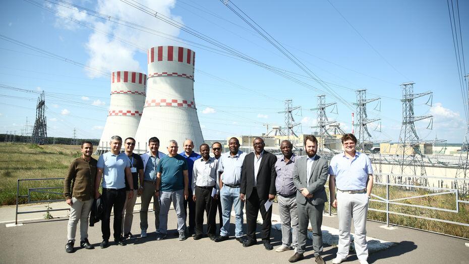 Представители 12 стран поучаствовали в техническом туре на Нововоронежскую АЭС