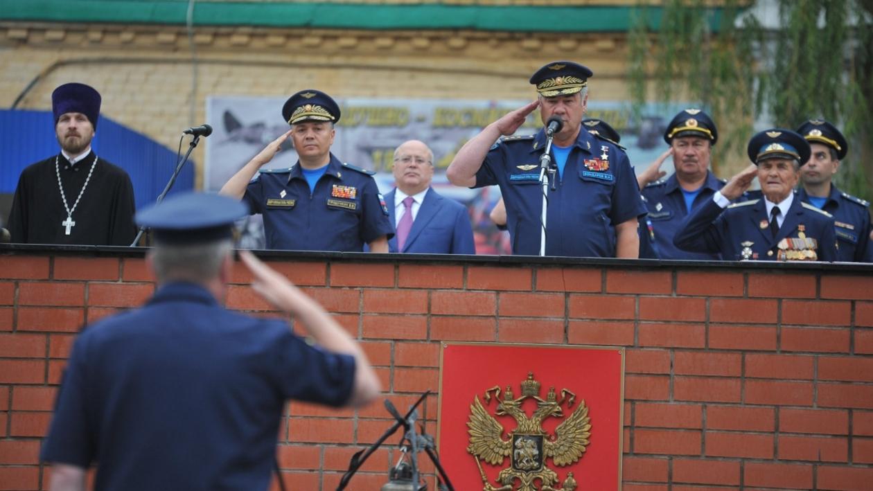 Главком ВКС России открыл учебный год в Военно-воздушной академии Жуковского и Гагарина