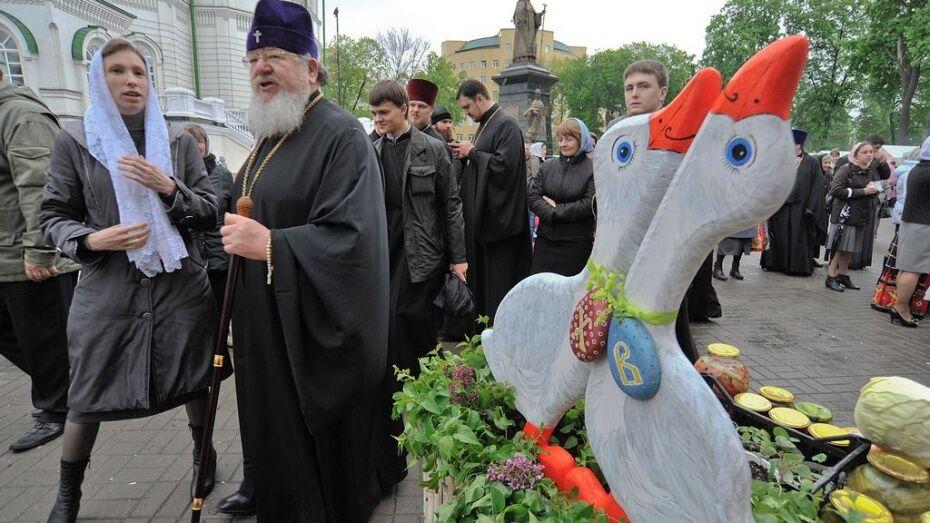 Благотворительная выставка-ярмарка пасхальных сувениров пройдет в Воронеже