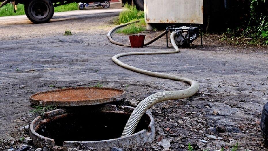 В Воронеже включили воду в домах на улице Лидии Рябцевой