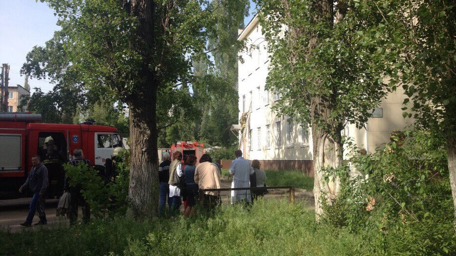 Посетителей воронежской поликлиники эвакуировали из-за задымления