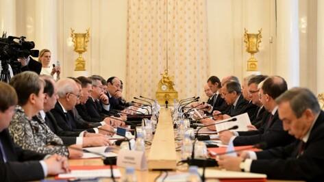 Заседание Совета глав субъектов РФ при МИД России пройдет в Воронеже в 2015 году