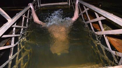 Число купающихся в Крещенскую ночь сократилось в 3 раза в Воронежской области
