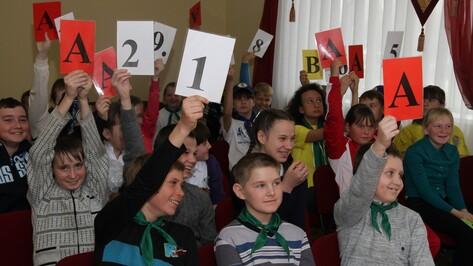 Аннинские школьники приняли участие в конкурсе на лучшее знание ПДД