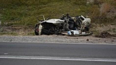 Под Нижнедевицком при столкновении «ВАЗ-21099» и «КрАЗа» погиб мужчина