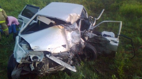 В ДТП в Воробьевском районе пострадал 35-летний мужчина
