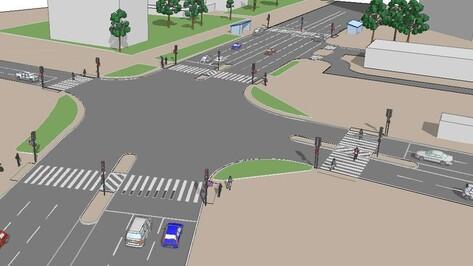 «Пешеходный Воронеж» предложил обезопасить переход на Ленинском проспекте