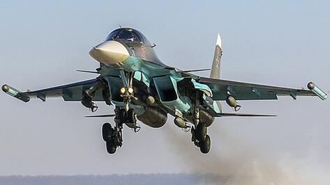 Су-34 отработали ракетно-бомбовые удары в Воронежской области