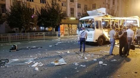 После взрыва автобуса в Воронеже проверили все маршрутки