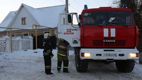 В Воронежской области при пожаре погибла 82-летняя женщина