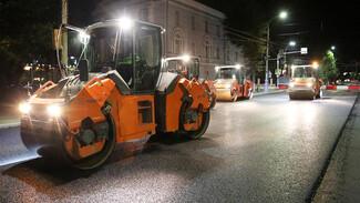 В Воронеже досрочно уложили дорожное покрытие на 28 улицах