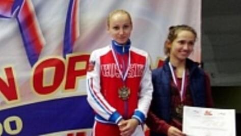 Воронежская тхэквондистка выиграла «бронзу» Russia Open