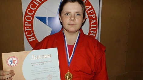 Таловская спортсменка выиграла соревнования ЦФО по самбо