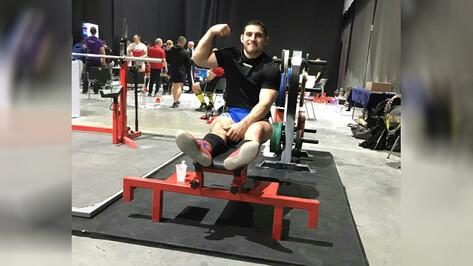 Терновский спортсмен стал абсолютным чемпионом Всероссийских соревнований по пауэрлифтингу