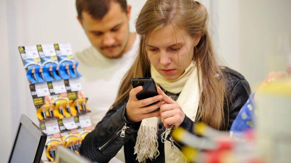 Воронежцы стали чаще выходить в интернет со смартфонов
