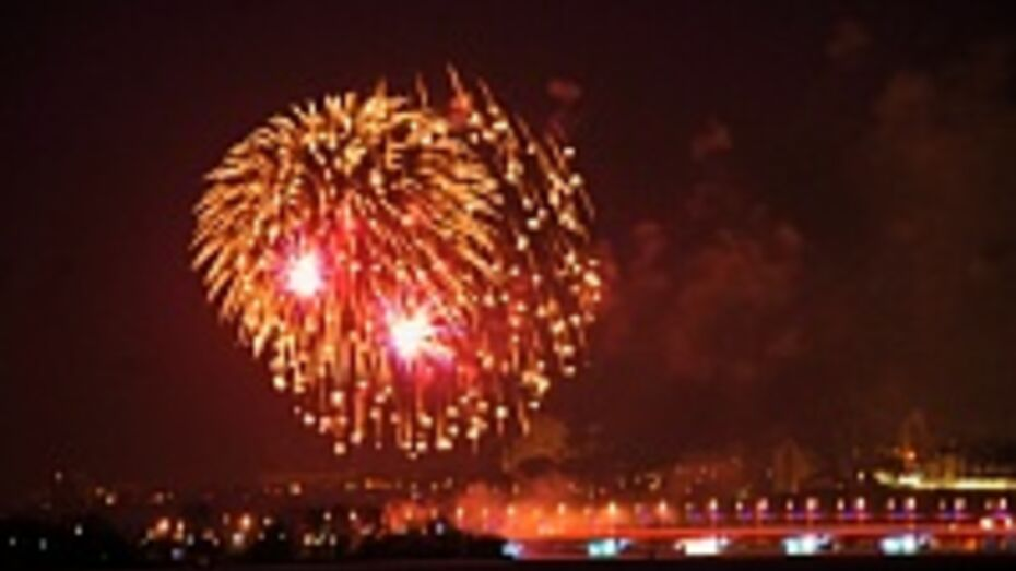 Салют 23 февраля в Воронеже начнется в 19:30
