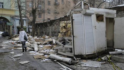 В Воронеже демонтируют 28 киосков в марте 2019 года