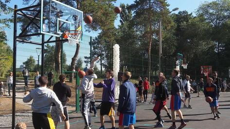 Создание центра развития стритбола обсудили в Воронежской области