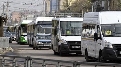 Количество маршруток в Воронеже уменьшили после падения пассажиропотока