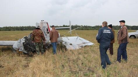 СК озвучил версии падения самолета в Воронежской области