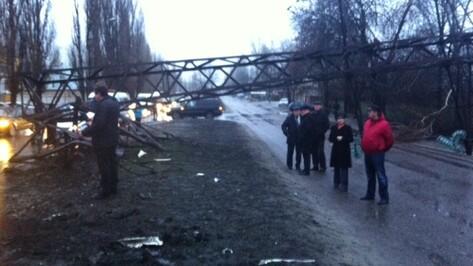 Электроснабжение в 3 районах Воронежа восстановят к полудню