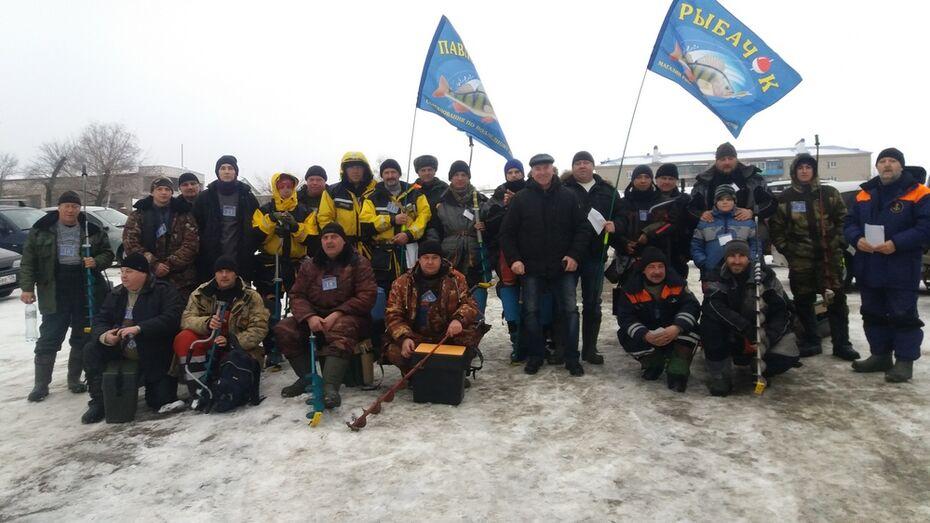 В Павловском районе выбрали лучших рыбаков по подледному лову