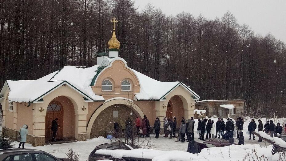 В Новоусманском районе определили 10 мест для крещенских купаний