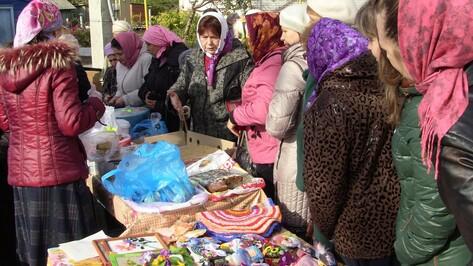 В Богучарском районе прошла благотворительная Покровская ярмарка