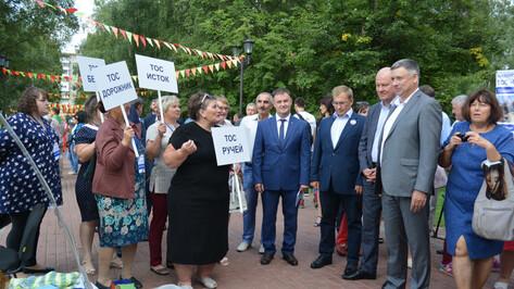 В Россоши прошел первый фестиваль ТОСов