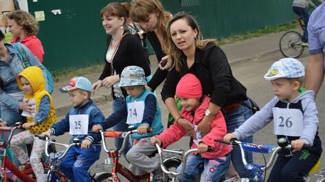В Рамони прошел велопробег дошкольников