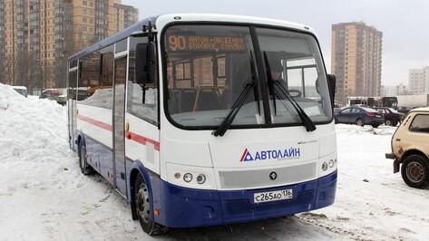 Число «ПАЗов» на маршруте №90 в Воронеже увеличилось до четырех