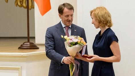 Мировые судьи Воронежской области получили региональные награды