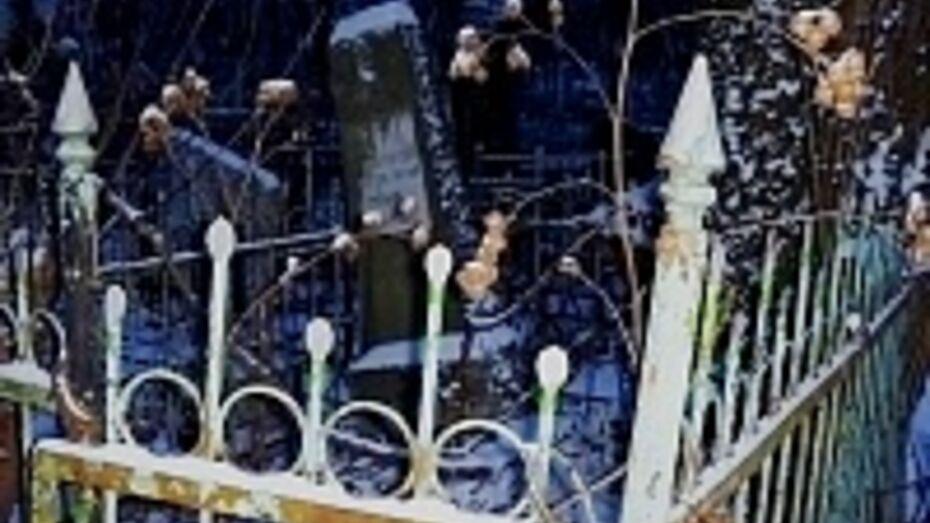 В Поворино вандал семь лет разрушал могилы, чтобы отомстить родственникам покойных